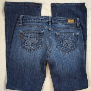 Paige Hollywood Hills Boot Cut Jeans Size 26